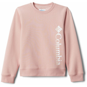 Columbia Columbia Park French Terry Crew Pullover Youth, faux pink
